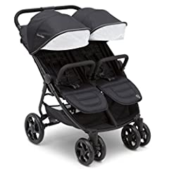 The J is for Jeep Brand Destination Ultralight Side x Side Double Stroller makes it easier than ever to go places, do things and see sights with your whole family. Loaded with features that make errands with multiple children a breeze, this d...