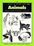 Animals, North Light Books Staff and Clip and Scan Staff, 0891345000
