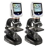 Celestron 5 MP LCD Deluxe Digital USB Microscope (2 Pack)