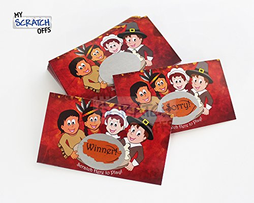 Thanksgiving Feast Scratch Off Game Card - 25 pack - My Scratch Offs