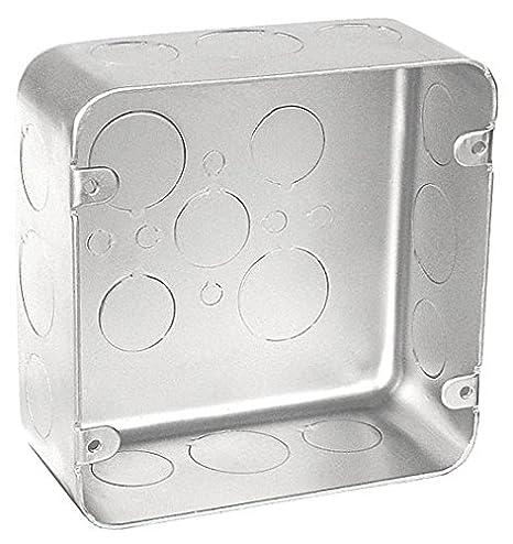 Stainless Steel Chicago Plenum 2-1/8 Inch Deep 4-11/16 Inch