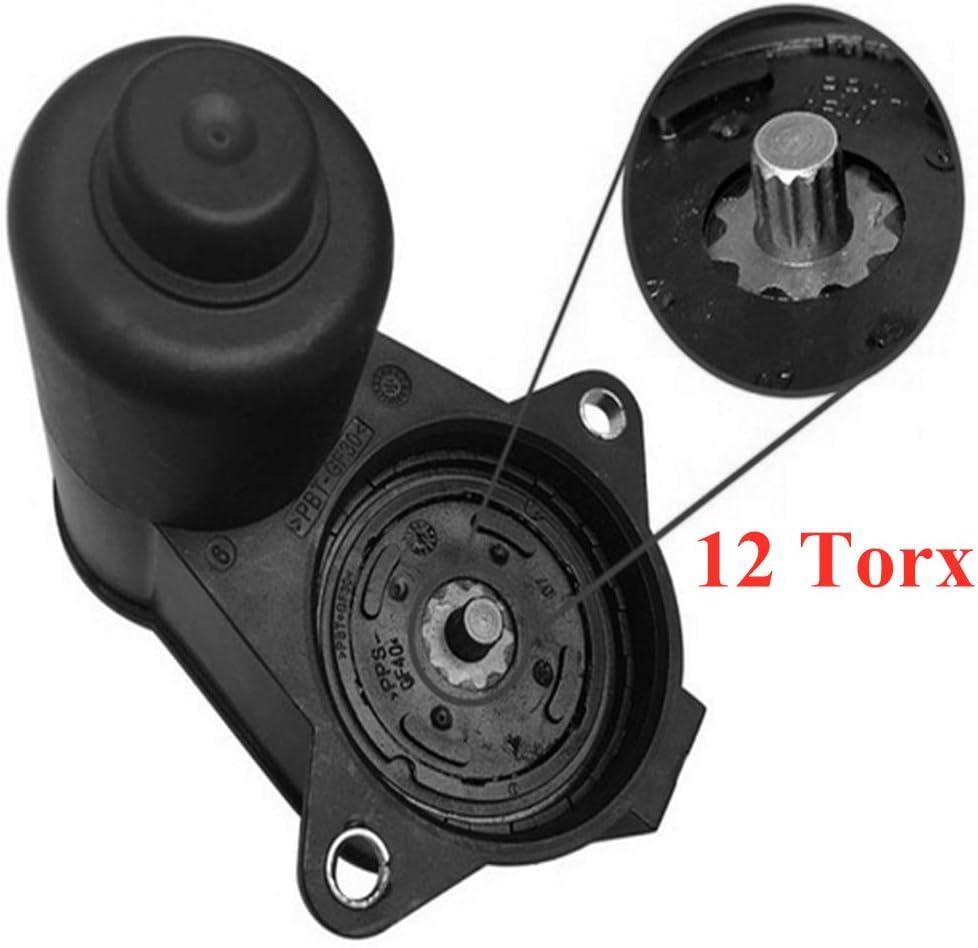 2-poliger Bremssattel-Servomotor 3C0998281 3C0998281A 3C0998281B 32332267 32330208