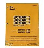 Komatsu GD530, GD650, GD670 Series Motor Grader Workshop Repair Service Manual - Part Number # CEBD003901