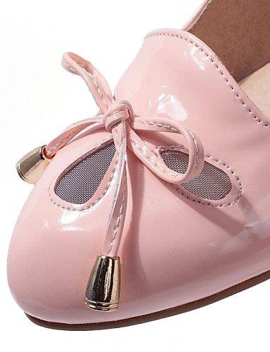 Y Pink De Casual us5 Zapatos Beige Zq 8 Trabajo Tacón Patentado us9 10 Eu41 Green Uk3 5 Cn34 Mocasines Rosa Mujer Negro Vestido Oficina Cn42 Tacones Eu35 5 Uk7 Bajo Cuero 8T55qP
