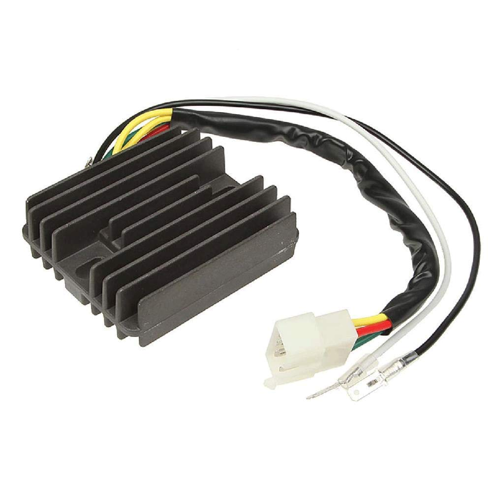IRONWALLS Motorcycle Regulator Rectifier Voltage Connector Electric For Honda XRV 750 P-Y Africa Twin 1993-2003