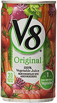 48-Pack V8 5.5 Ounce 100% Vegetable Juice Cans