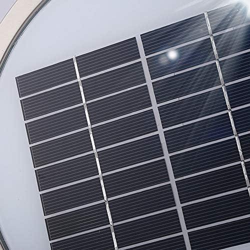 Meidn Edelstahl LED Solar-Säule Lampe IP56 Hohe brightnes Thick Außen Säule Lampe Acryl Metall Patio Licht Outdoor Decor Gemeinschafts-Licht-Beleuchtung