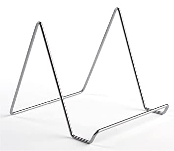 Exceptionnel Amazon.com: Set Of 20, Wire Table Easels For Countertop Use, Steel With  Chrome Finish, Tabletop Easels Display Pictures, Plates, Crafts, Artwork  And Much ...