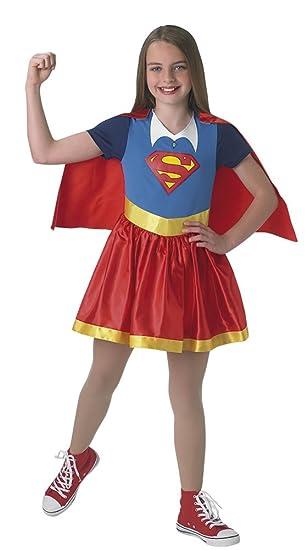 Rubies – Disfraz clásico Supergirl Superhero Girls – Talla S (3-4 anos)