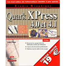 Quark xpress 4 et 4.1 - select studio graphique