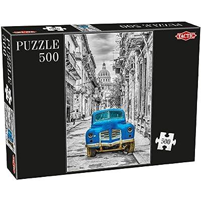 Tactic Cars Puzzel 500 Pcs 500pcs Puzzles Jigsaw Puzzle Vehicles Children Adults Boygirl 470 Mm 310 Mm