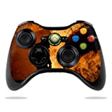 Protective Vinyl Skin Decal Cover for Microsoft Xbox 360 Controller wrap sticker skins Fire Fighter Review