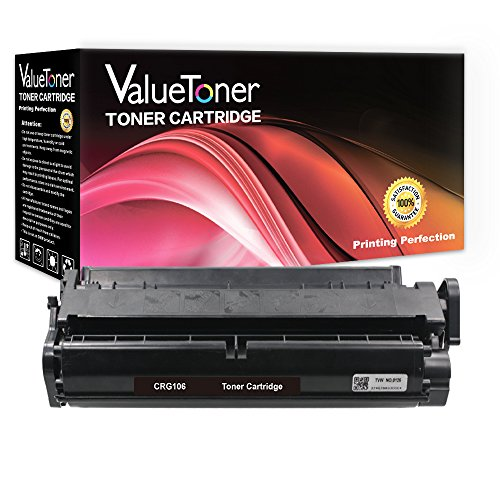 ValueToner Compatible Toner Cartridge Replacement for Canon 106 High Yield (1 Black Toner) 0264B001AA Compatible with ImageClass MF6530 MF6540 MF6550 MF6560 MF6580 MF6590 MF6595 MF6595cx Printer 106 Black Toner Cartridge