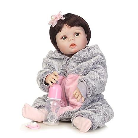 Amazon.es: Nicery Reborn - Muñeca de bebé de alto vinilo (50 ...