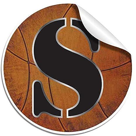 Amazon.com: pared letras Baloncesto alfabeto letra inicial ...