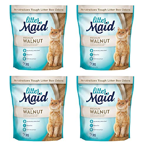 LitterMaid Crystal Litter Walnut Clumping product image