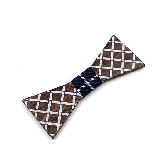 Corbata de cuello formal para hombre Tela escocesa Contratada ...