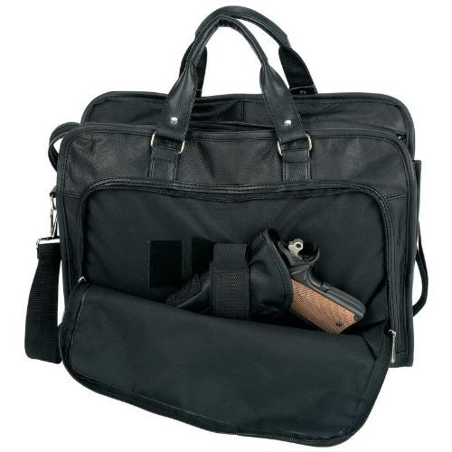 Leather Gun Portfolio Black