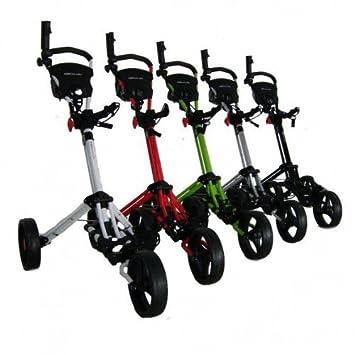 Trolem - Carrito de golf de mano con ruedas: Amazon.es: Deportes y aire libre