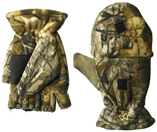 Rocky Men's Silent Hunter Fleece Glomitt Gloves, Realtree Extra Camouflage, Medium