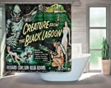 Creature From The Black Lagoon Shower Curtain Horror Movie
