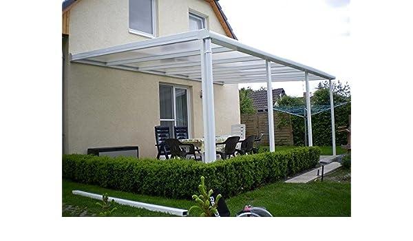 Aluminio prikker-überdachungen 900 X 300 cm ajuste de inclinación ...