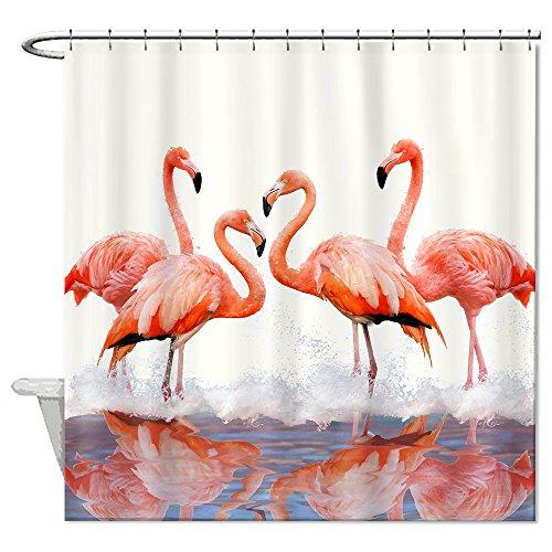 Curtains Ideas bird shower curtain hooks : Compare Price: flamingo shower curtain hooks - on Statements Ltd