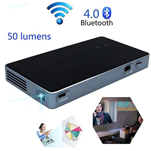 WANGOFUN Leisure HD Projector, Proyector inalámbrico, Mini ...