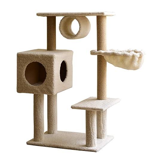 CHenXy Gato trepador Árbol y torre de gato, marco de escalada de ...