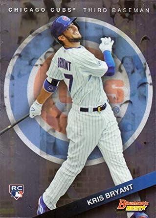 Amazoncom 2015 Bowmans Best Baseball 50 Kris Bryant Rookie Card
