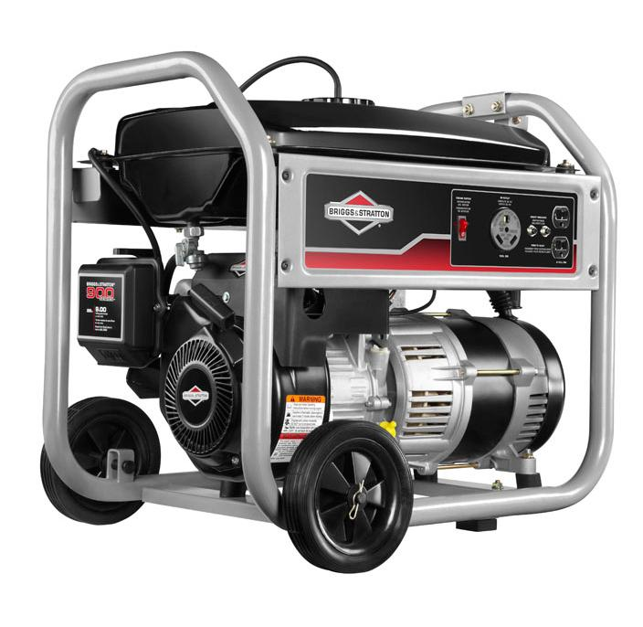 amazon com briggs stratton 30550 3500 watt gas powered portable rh amazon com briggs and stratton 5500 watt portable generator manual briggs & stratton 6250 watt portable generator manual