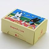 FBAGL508 ペーパーランチボックス2枚入 リサとガスパール(スパゲッティ)