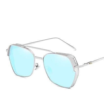 BiuTeFang Gafas de Sol Mujer Hombre Polarizadas Espesor Borde Personalidad Europea de Gafas de Sol y