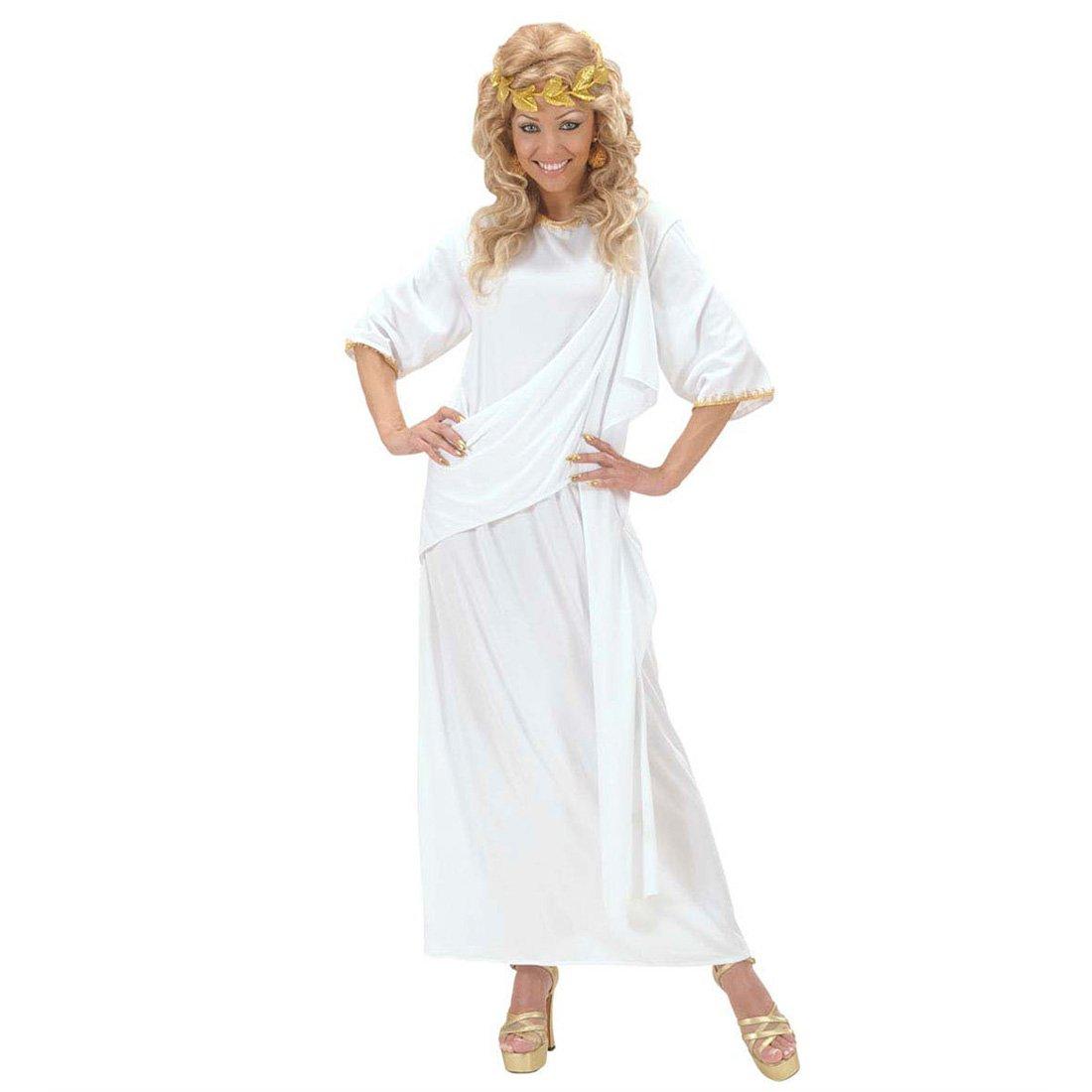 Relativ Toge romaine déguisement de femme grecque blanc L unisexe robe de  BV41