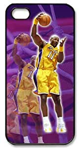 LZHCASE Personalized Protective Case for iPhone 5 - Karl Malone, NBA Los Angeles Lakers by icecream design
