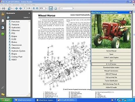 Amazon Vintage Wheel Horse Tractor Service Repair Manual. Vintage Wheel Horse Tractor Service Repair Manual Library. Wiring. Wheel Horse C120 Wiring Diagram At Scoala.co