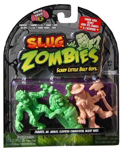 S L U G ZOMBIES FIGURES 3 PACK Comminatcha product image