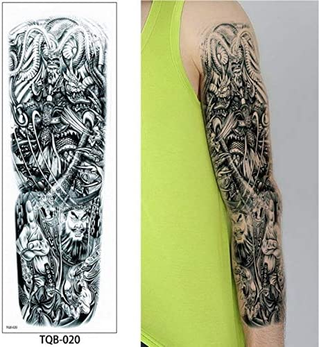 Zhuhuimin 3 unids Hombres Brazo Completo Tatuaje Legionario ...