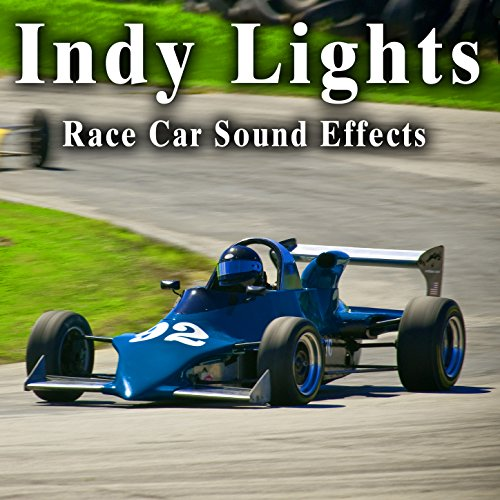 Indy Lights Car Racing Ambience from Crowds with Pass Buys and Walla