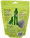 Hare of the Dog Rabbit Dog Treats Variety Pack of 3
