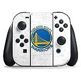 Golden State Warriors Nintendo Switch Joy Con Controller Skin - Golden State Warriors Distressed | NBA & Skinit Skin