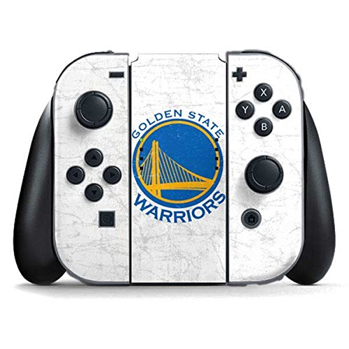 Golden State Warriors Nintendo Switch Joy Con Controller Skin - Golden State Warriors Distressed | NBA & Skinit Skin by Skinit