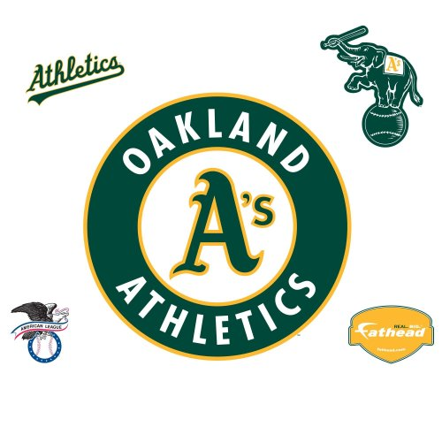 Fathead Oakland A's (Athletics) Logo Wall Decal