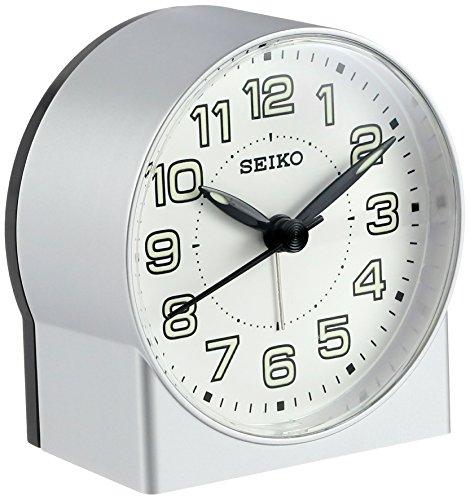 Seiko QHE084SLH Bedside Alarm (Seiko White Clock)