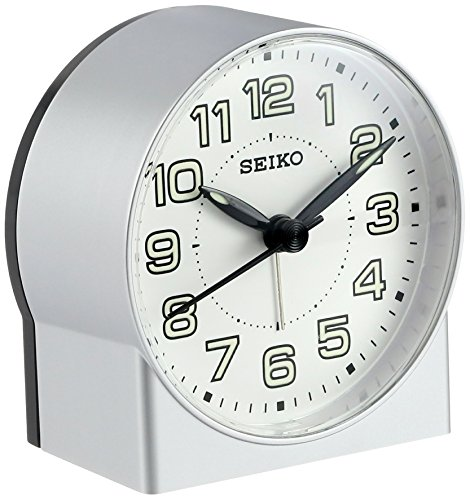 Seiko QHE084SLH Bedside Alarm Clock ()