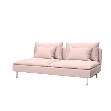 Gentil Soferia   IKEA SÖDERHAMN Sofa Bed Cover, Glam Baby Pink