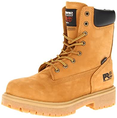 "Timberland PRO Men's Wheat 26011 Direct Attach 8"" Soft-Toe Boot,Yellow,7 M"