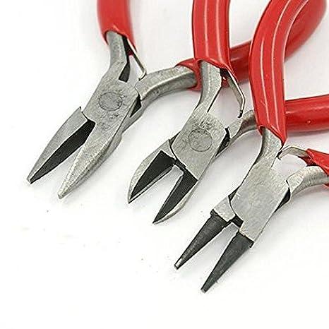 3 X Mini Zange Set for DIY.Schmuck Set NEU^