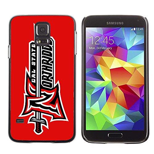 Amazon.com: Samsung Galaxy S5 Case CSUN Cal State Northridge Matadors 8 Drop Protection Never Fade Anti Slip Scratchproof Black Hard Plastic Case: Cell ...