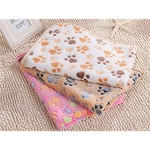 Puppy Pet Blanket,Soft & Warm Blanket,Coral Velvet Blanket,3 Pack 3 Colors,Sleep Mats